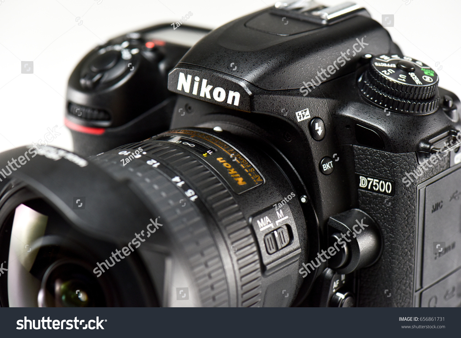 Nikon D 7500 Latest Dslr Camera Stock Photo Edit Now 8 Megapixel Cmos Imaging Sensor The D7500 Is Designed For Crisp 209