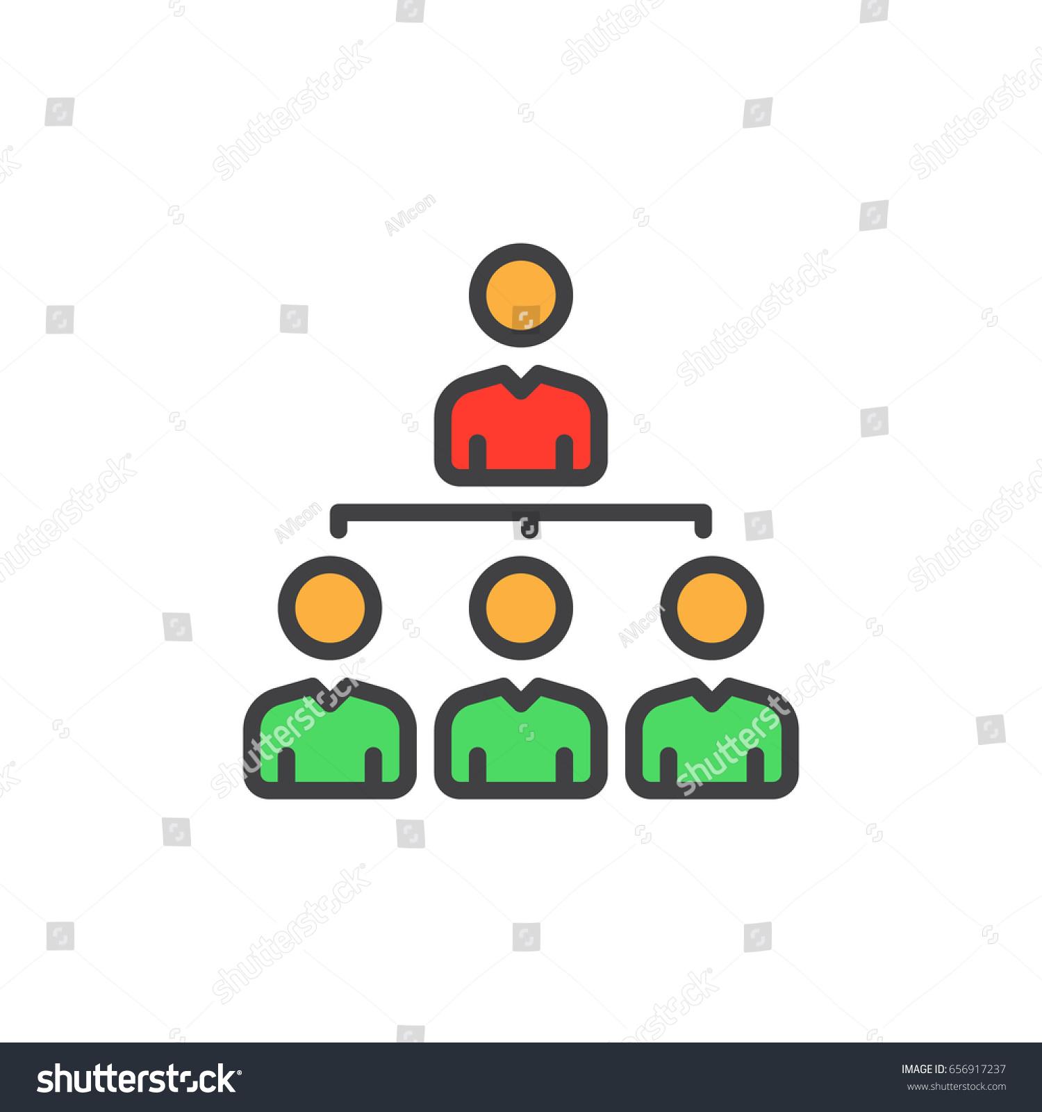 organization chart symbols organization free business