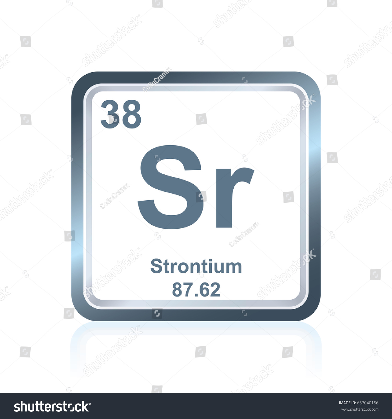 Chemical symbol of strontium image collections symbol and sign ideas symbol chemical element strontium seen on stock vector 657040156 symbol of chemical element strontium as seen biocorpaavc