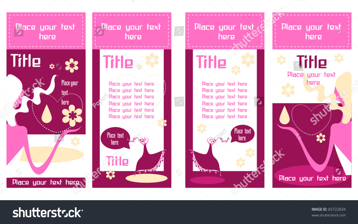 Eco Green Color Banner Business Cards Stock Photo (Photo, Vector ...
