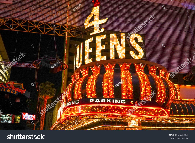 Four Queens Hotel Casino Las Vegas Stock Photo Edit Now 657269470