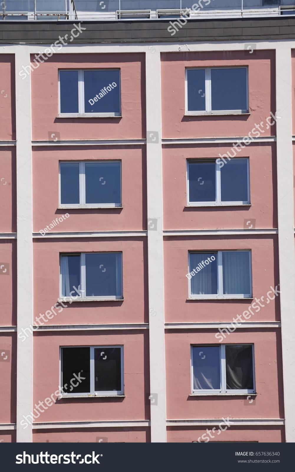 Beeindruckend Fensterfront Sammlung Von Rotes , Fenster,