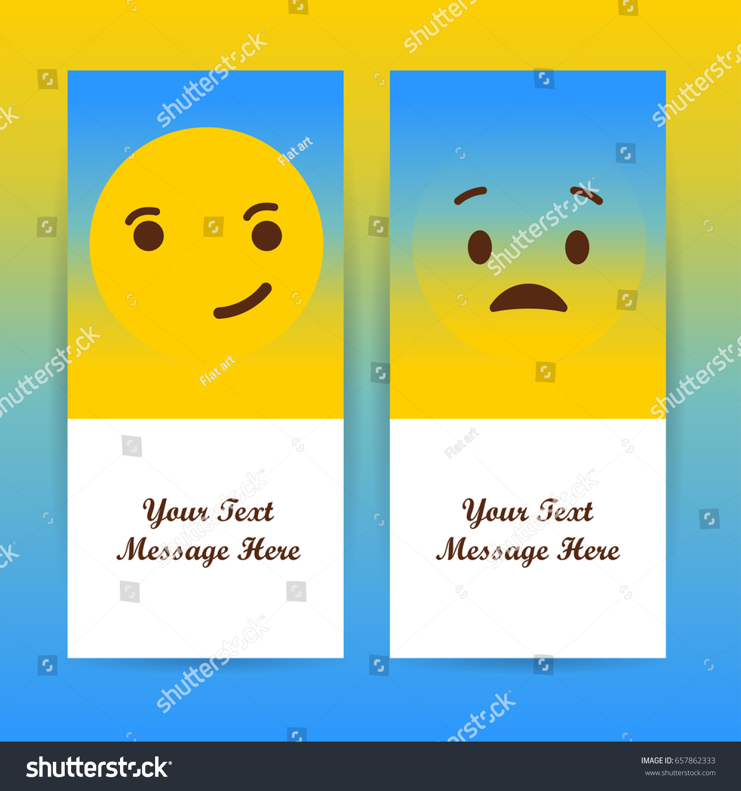 Smiley faces design elements vector illustration stock vector smiley faces design elements vector illustration background with feelings all emotions concept biocorpaavc