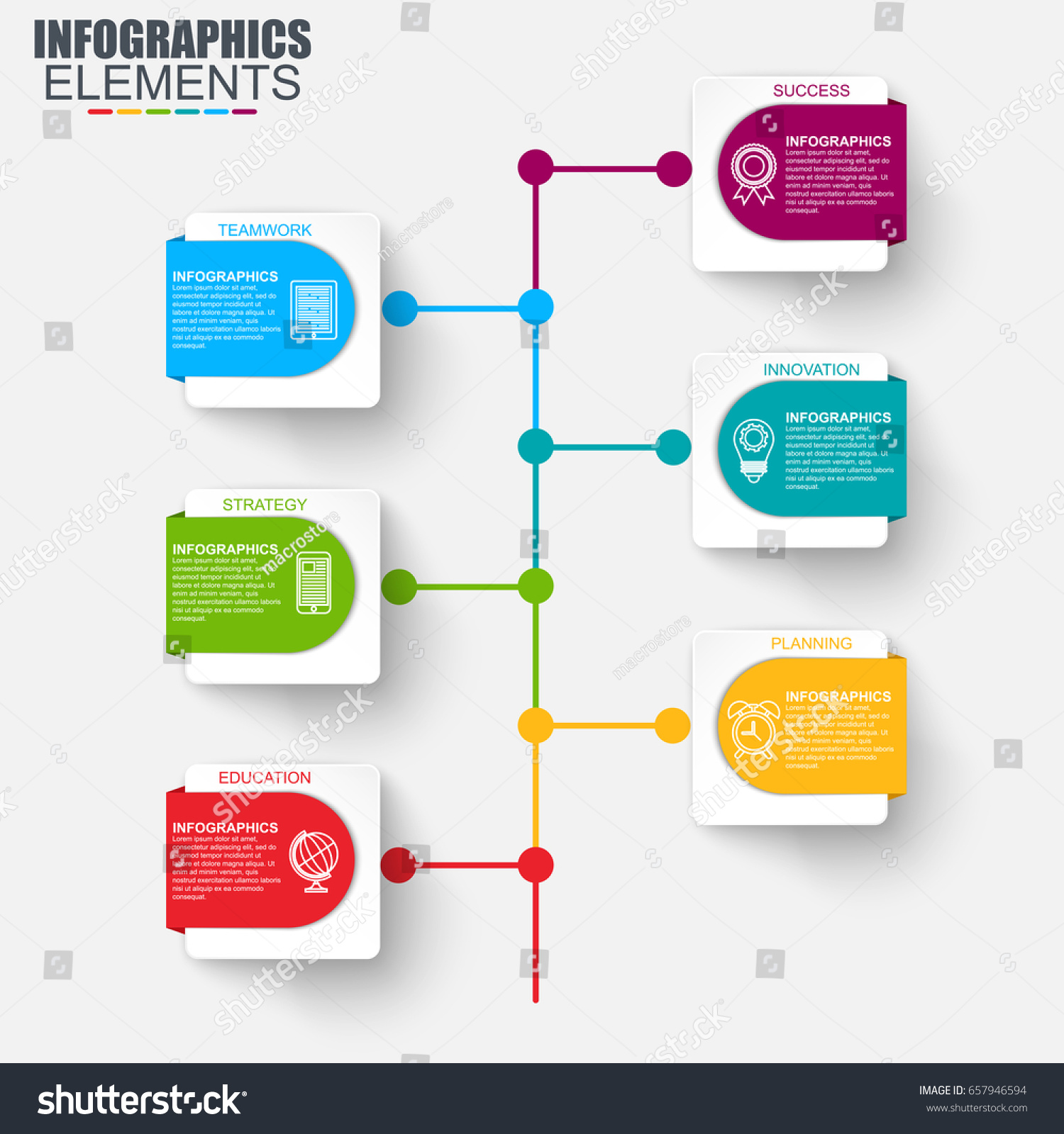 Timeline infographic design vector marketing icons em vetor stock timeline infographic design vector and marketing icons can be used for workflow layout diagram ccuart Image collections