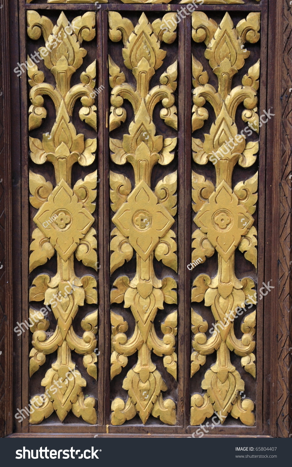 Wall Panel Yellow Painted Wood Craft Stock Photo 65804407 - Shutterstock