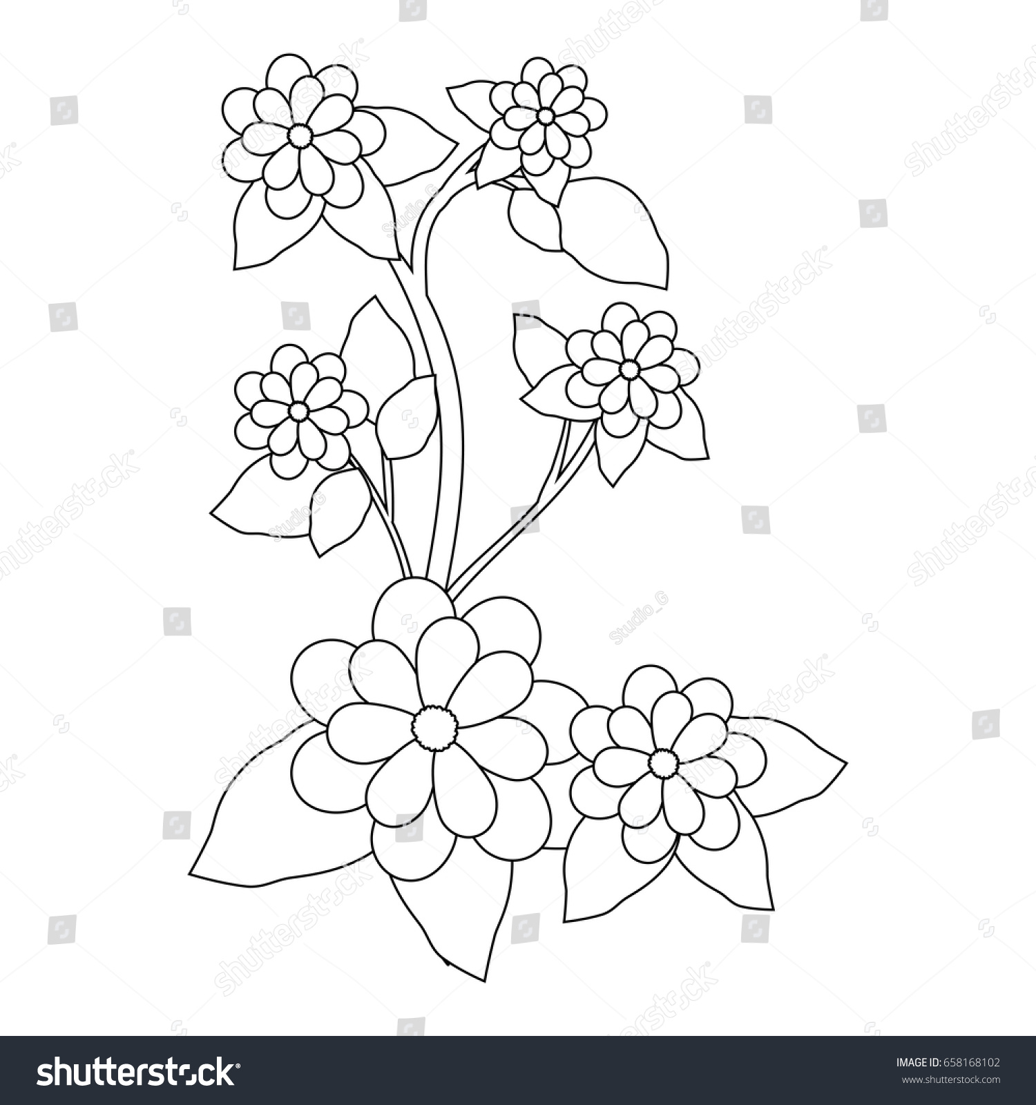 Beautiful Flowers Design Ez Canvas