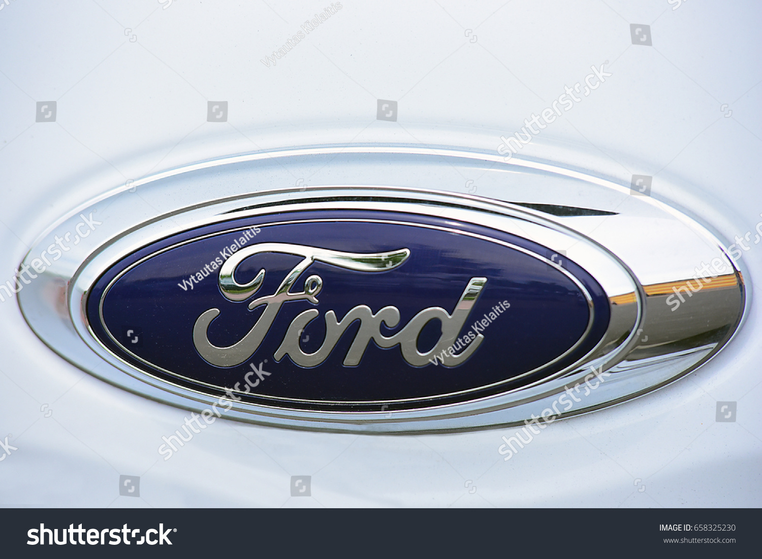 Frankfurtgermany June 09 Ford Cars Logo On Stock Photo Royalty Free