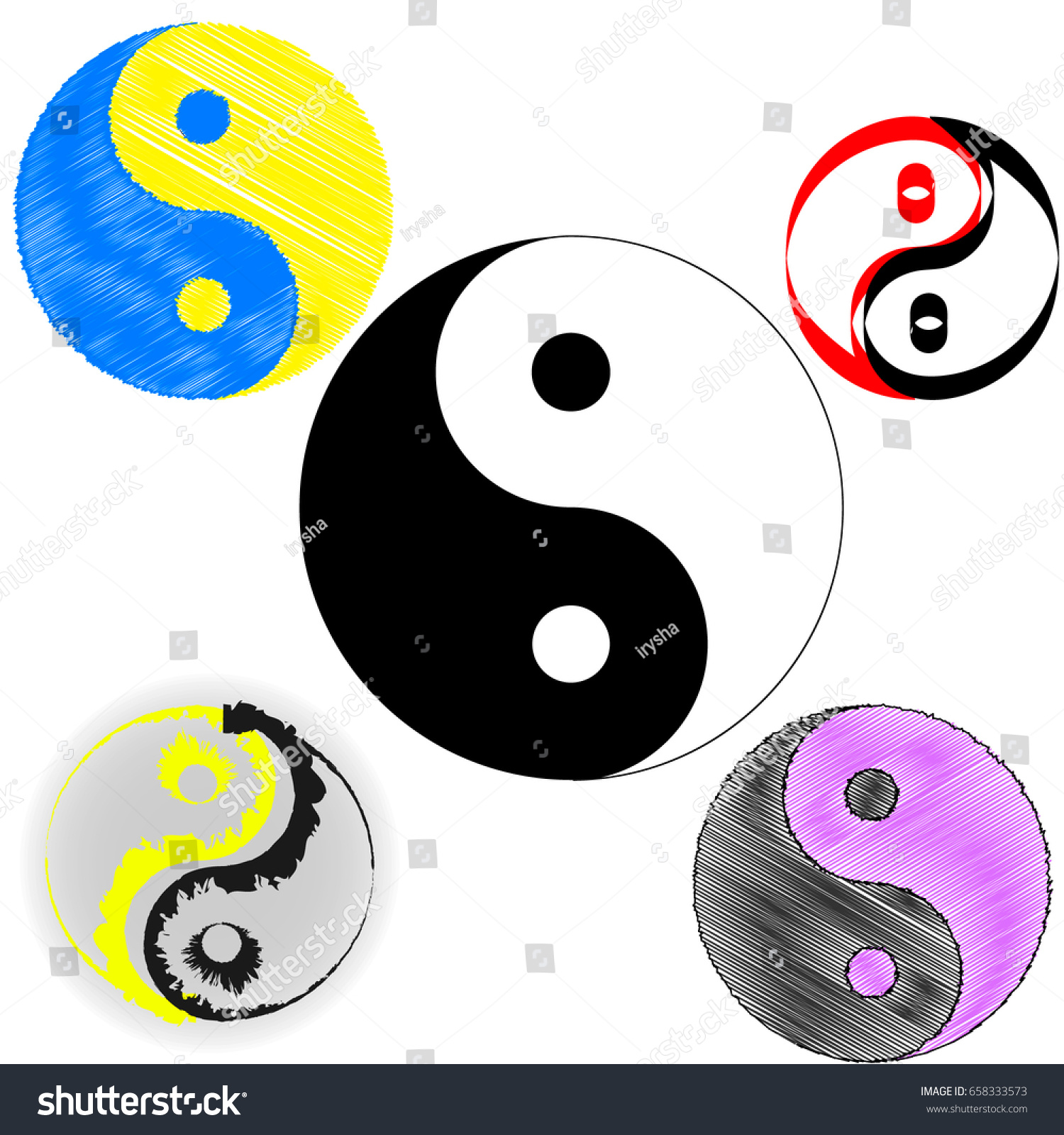 Sign chinese philosophy symbol confucianism icons stock vector sign of chinese philosophy of the symbol of confucianism icons symbolizing the unity of yin biocorpaavc Images