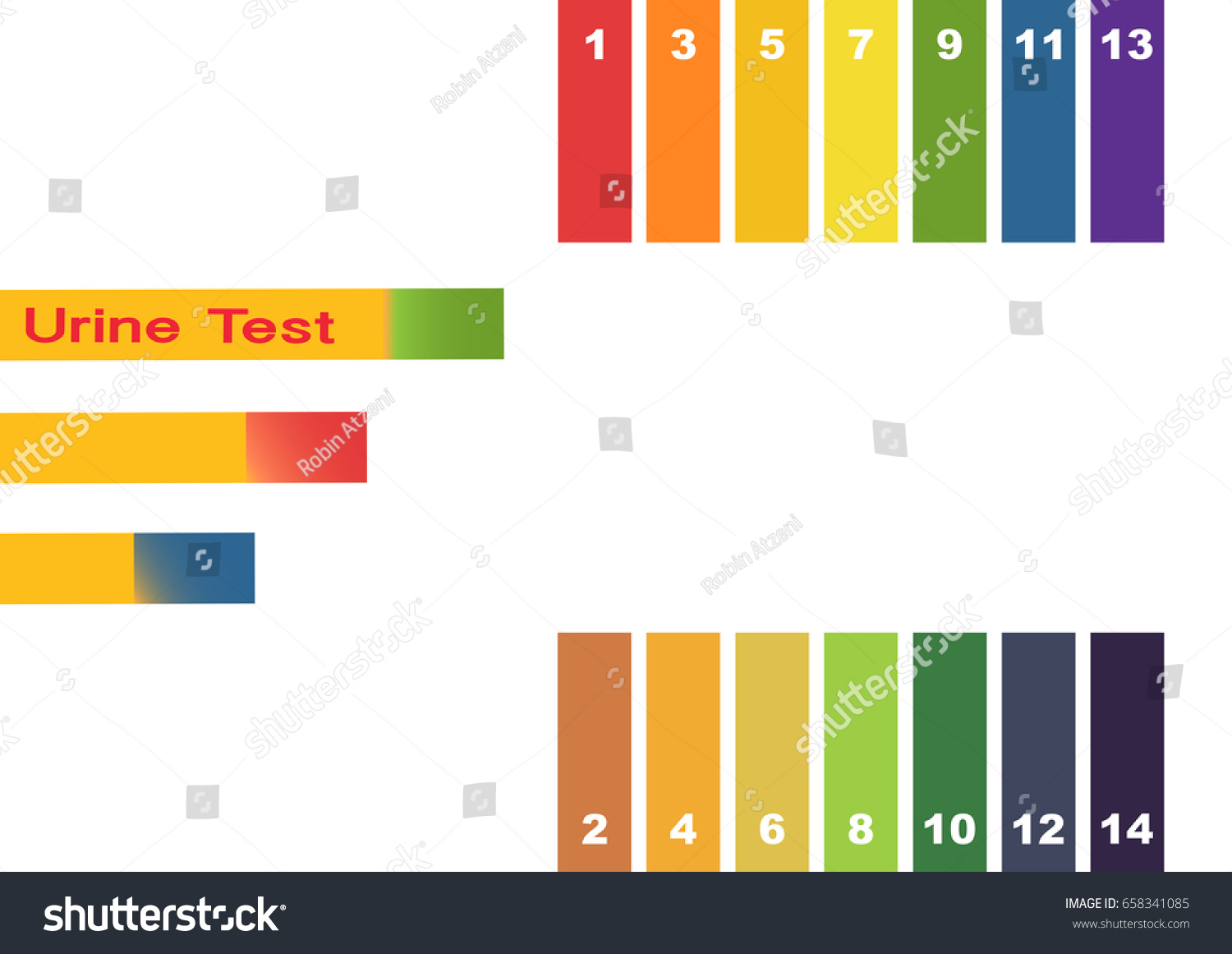 Urine test hand holding test tube stock vector 658341085 hand holding test tube with ph indicator comparing color to scale and litmus nvjuhfo Images
