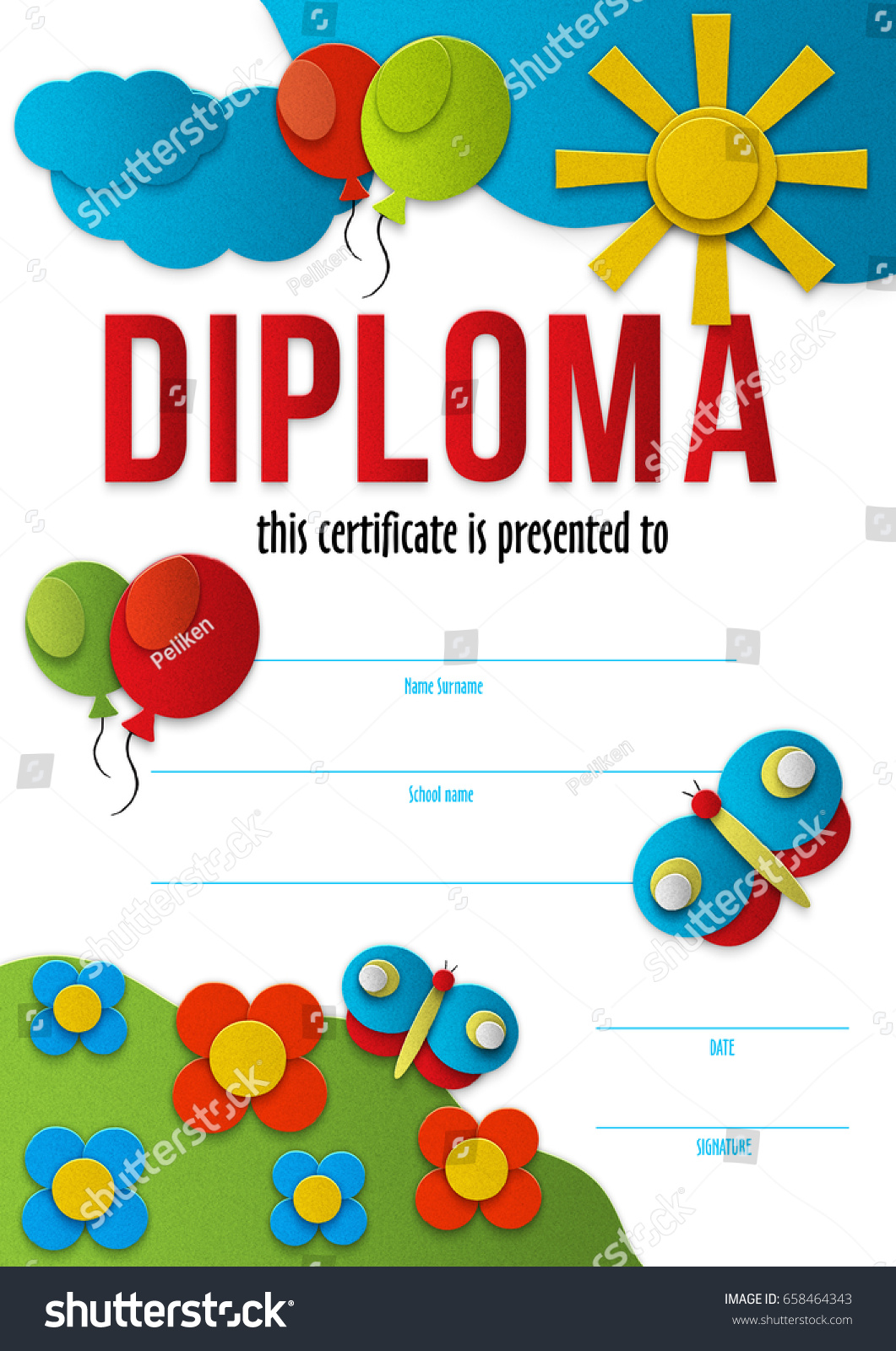 Preschool diploma template word northurthwall preschool diploma template word yelopaper
