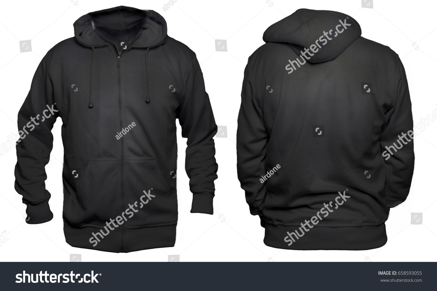 blank sweatshirt mock template front back stock photo edit now