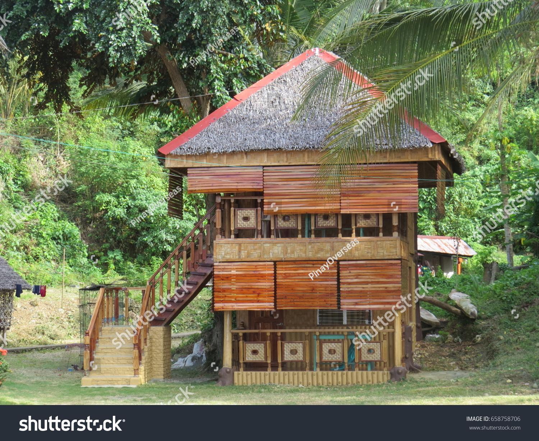 Modern Bahay Kubo Nipa Hut Stock Photo Edit Now 658758706