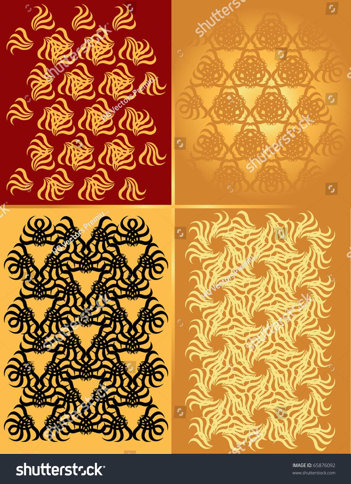 Old Caver Texture Christmas Art Nouveau Stock Illustration 65876092 ...
