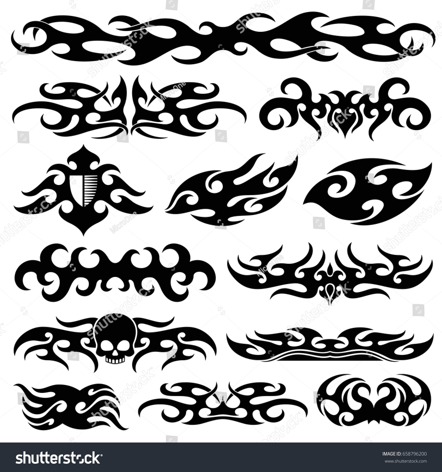 racing car vinyl decoration motorbike decals stock vector