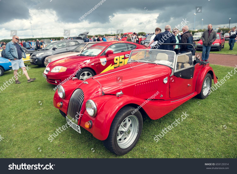 England Morecambe 08162016 Austin Marten Car Stock Photo 659129314 ...