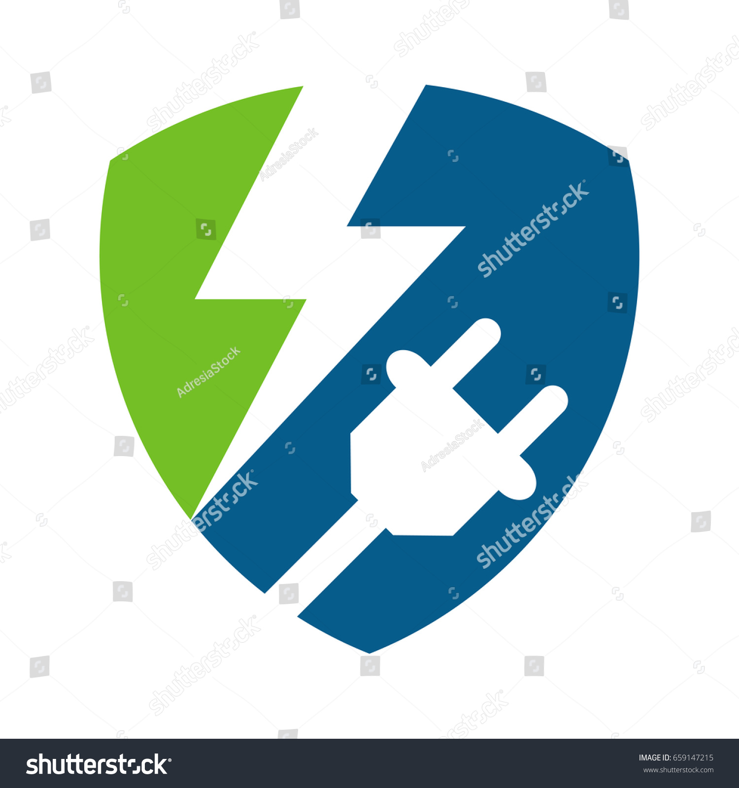 Protection Management Electrical Power Supply Resources Stock Vector ...
