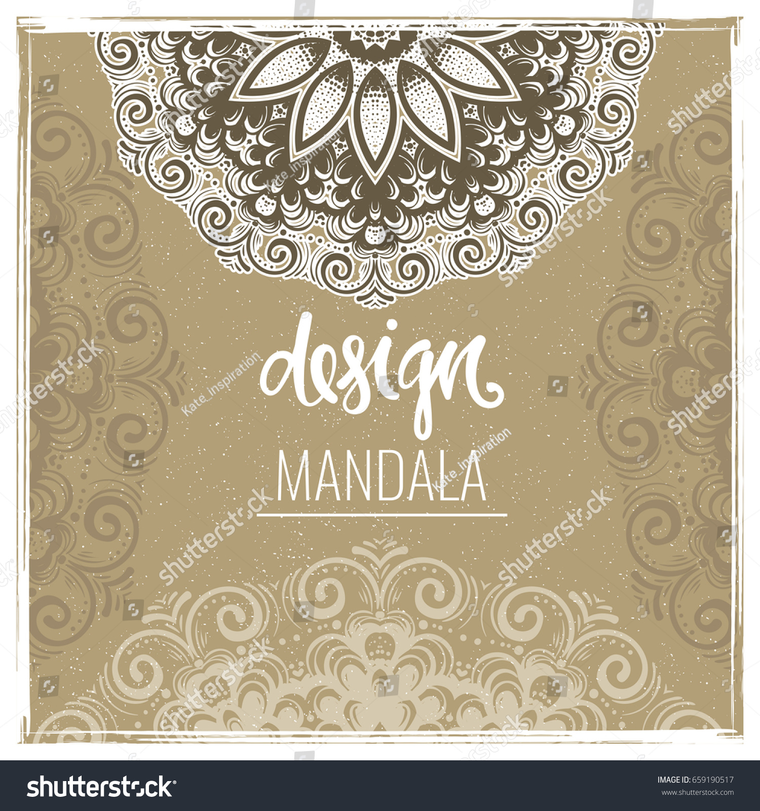 Modern Template Design Greeting Cards Invitations Stock Vector