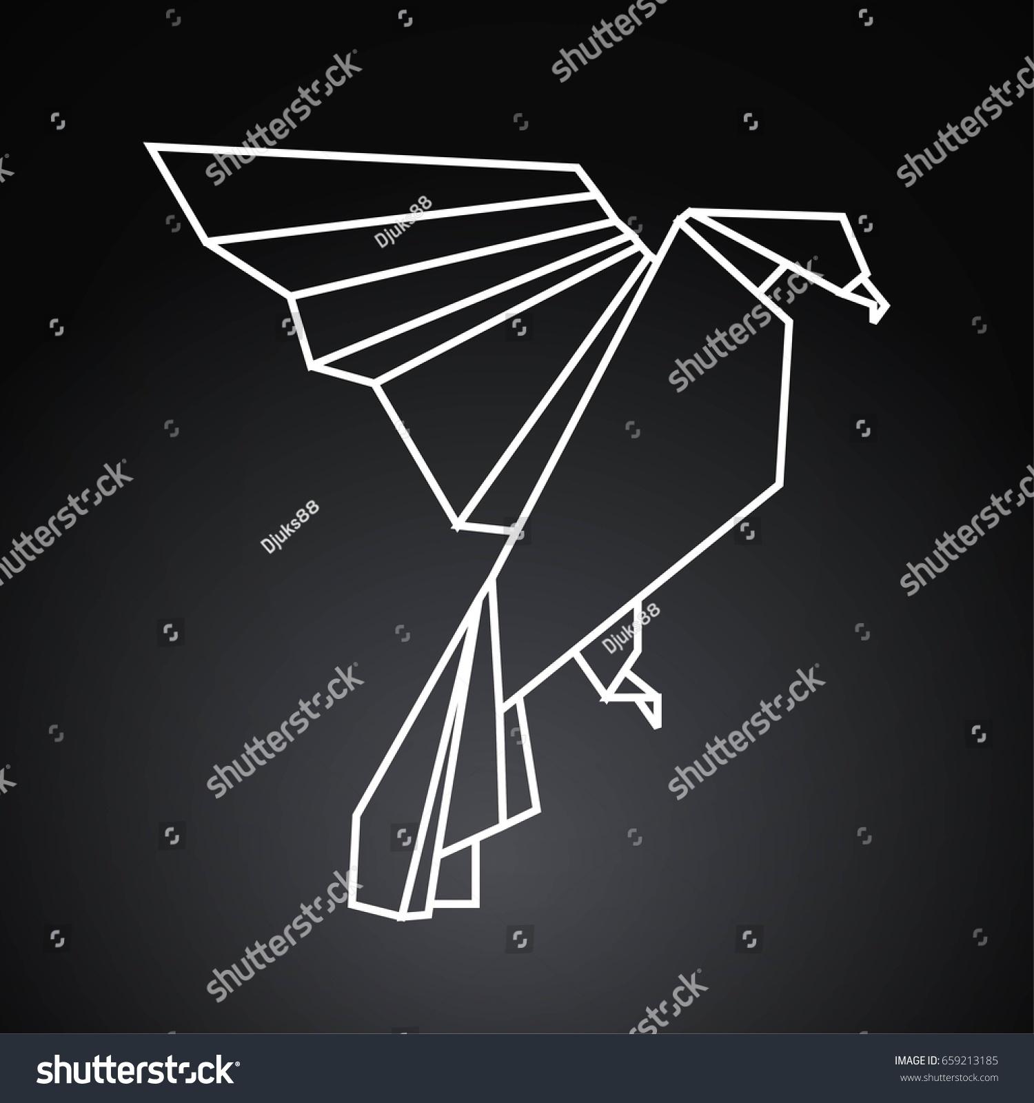 Astounding Origami Eagle Stock Illustration Royalty Free Stock Illustration Wiring Digital Resources Operbouhousnl