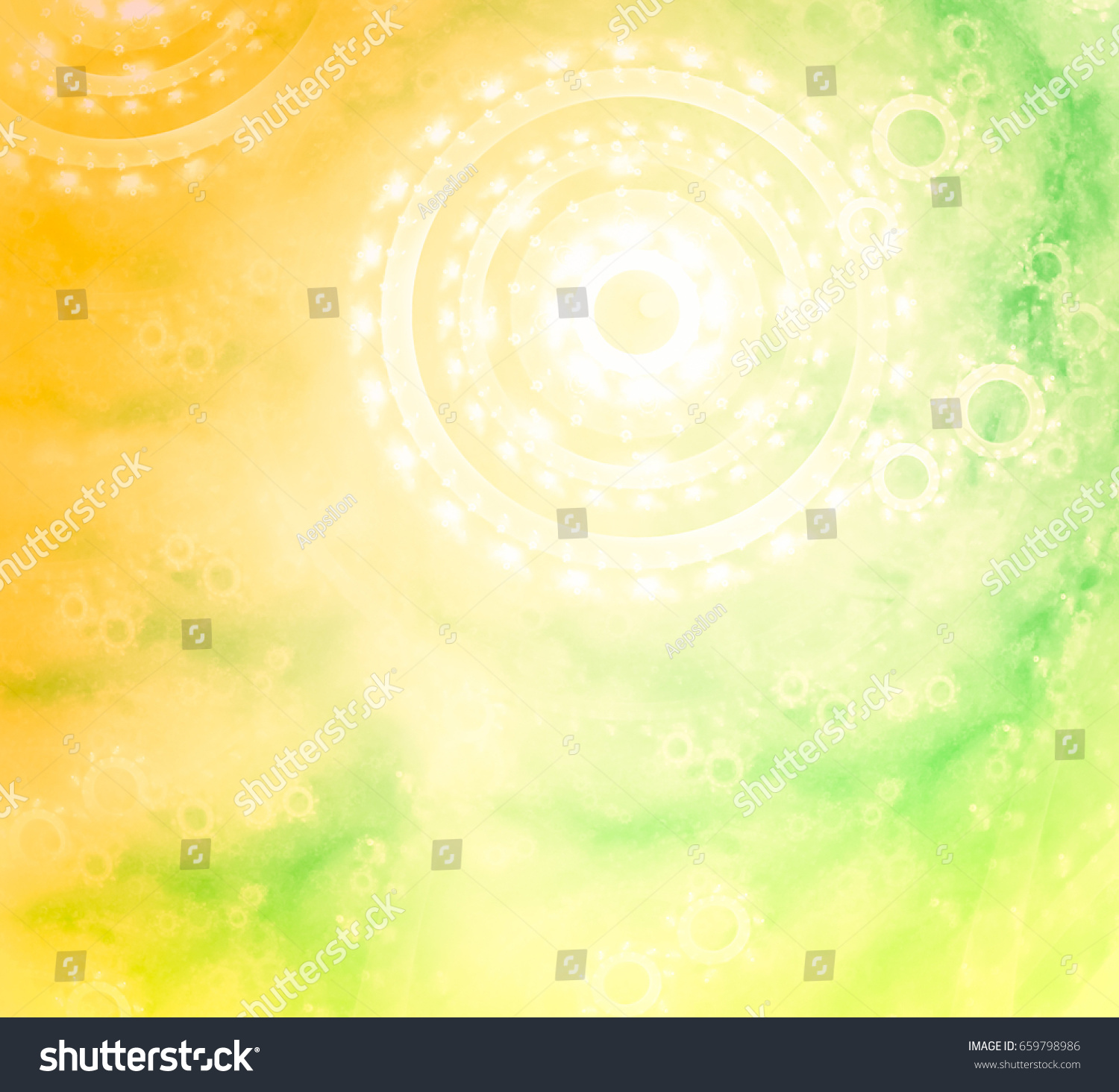 Stylish Harmonious Background Blur Colors Tender Stock
