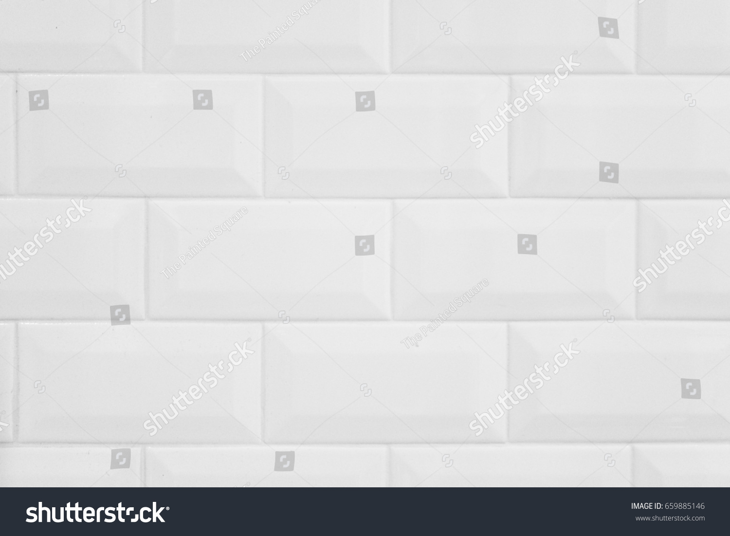 White Background Texture Subway Tile Stock Photo Edit Now