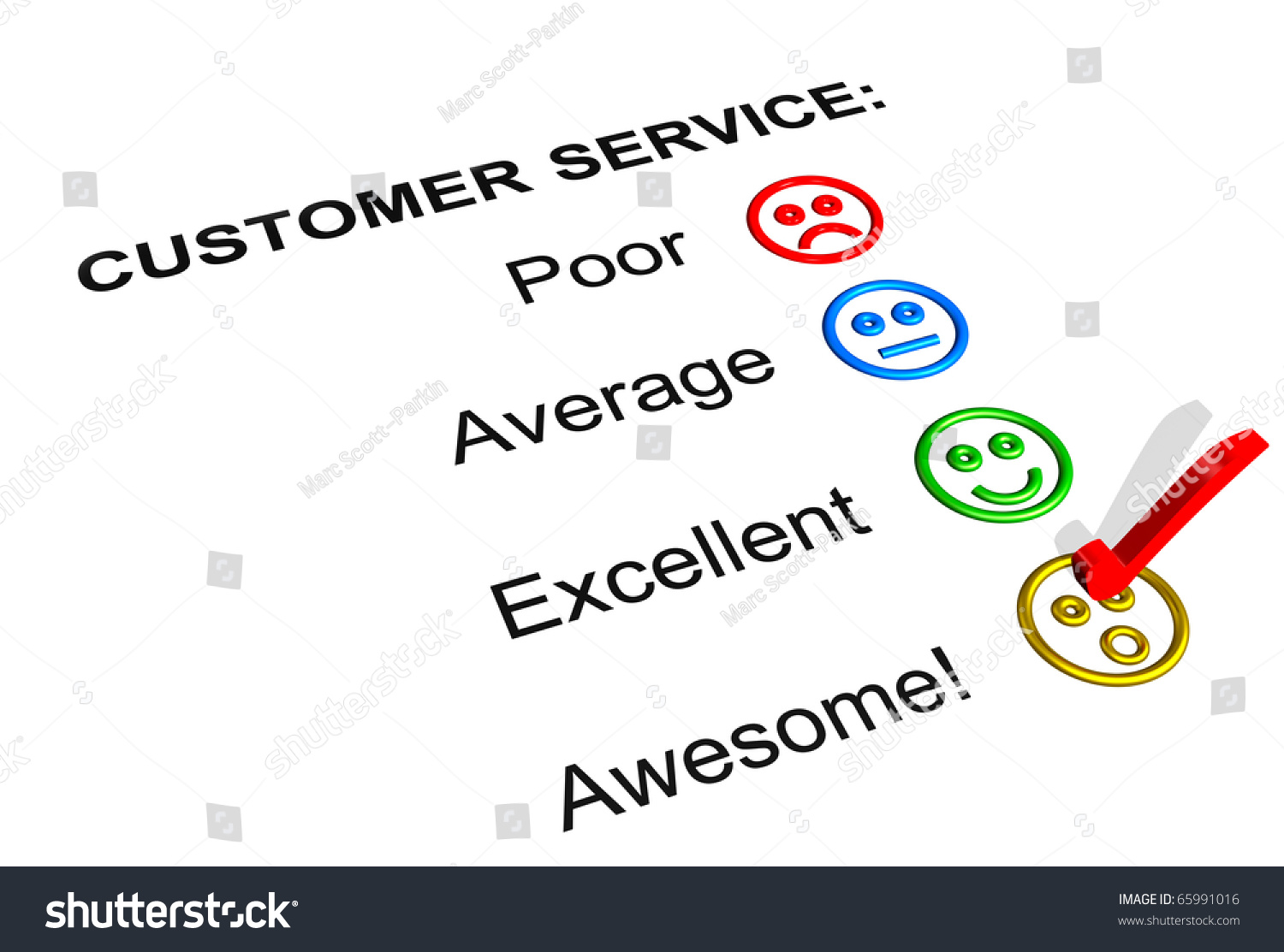 Customer Service Feedback Form Showing Awesome Illustration – Service Feedback Form