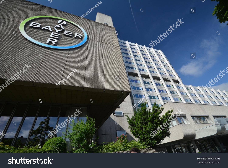 Bayer Pharma Ag Administration Laboratory Buildings Stock Photo