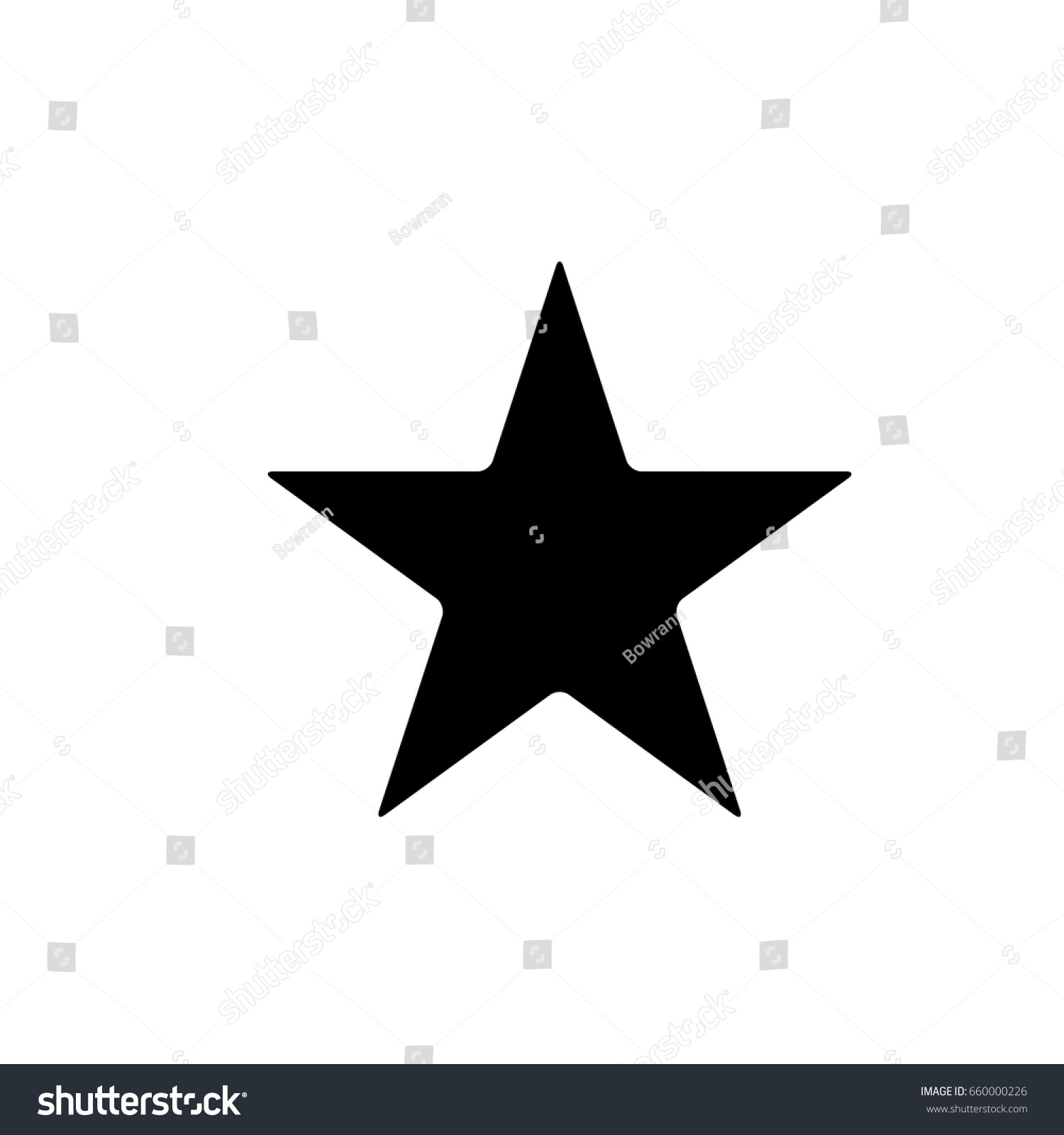 star - Vector icon