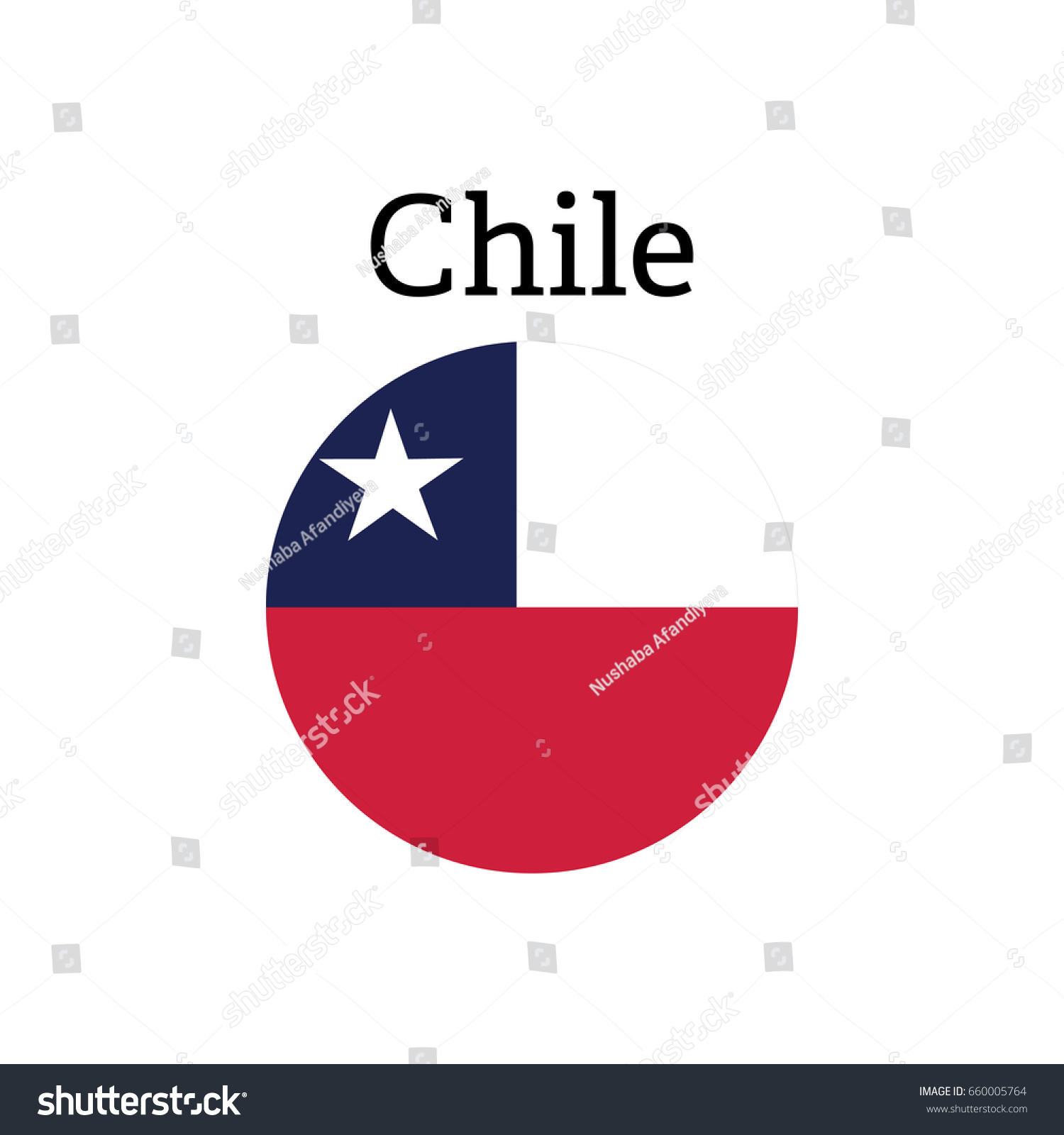 Chile national flag icon sign symbol stock vector 660005764 chile national flag icon sign symbol vector biocorpaavc Images