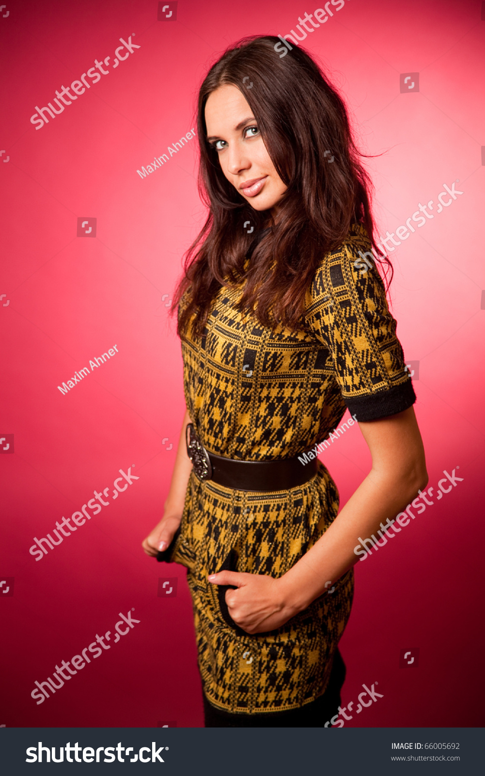 Very Shy Girl Stock Photo 66005692 : Shutterstock