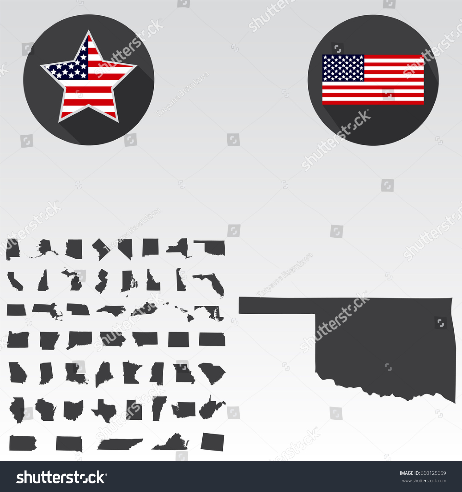 Oklahoma Location On The US Map Oklahoma City Map Usa My Blog US - Oklahoma in us map