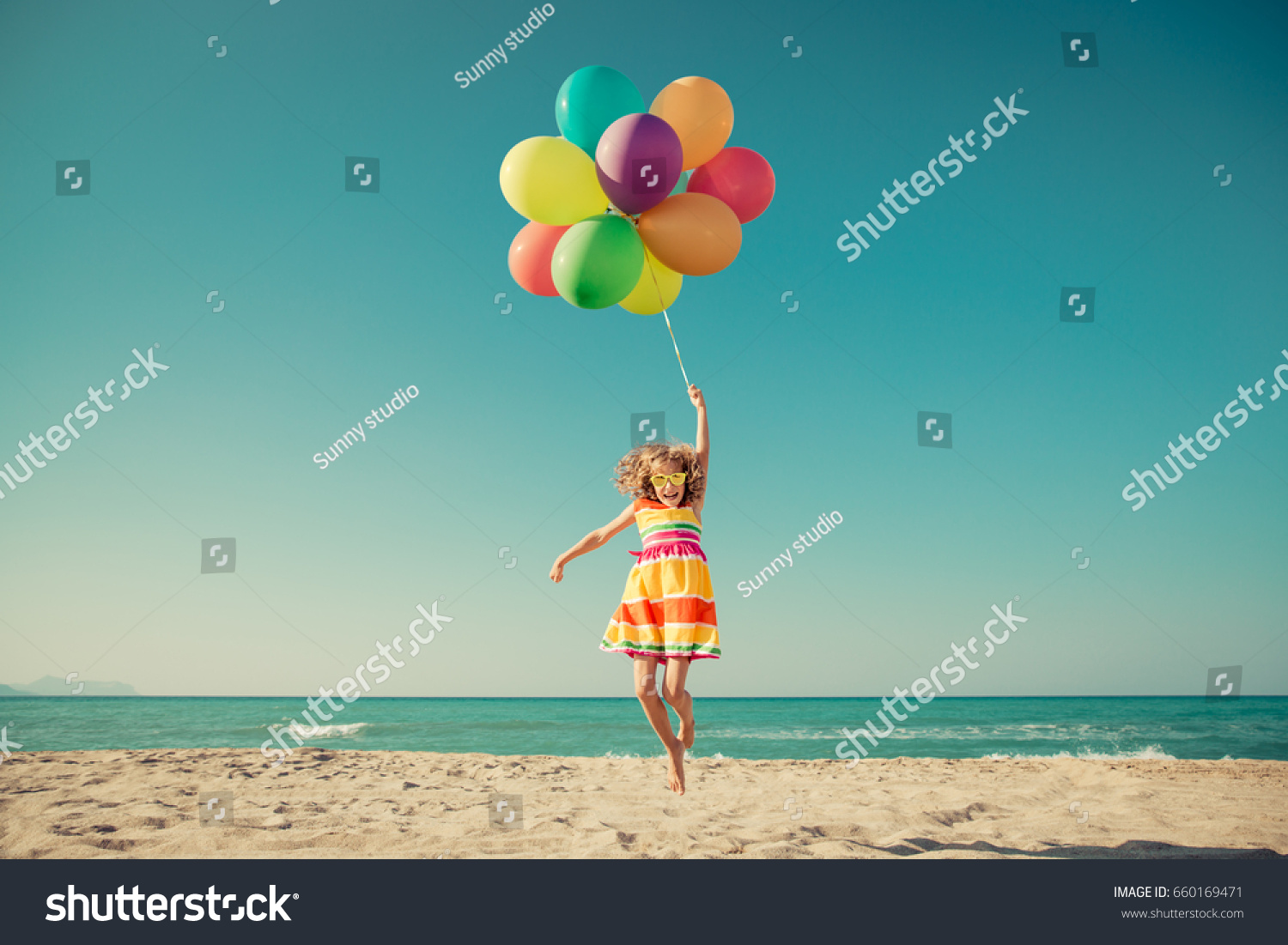 Summer Holidays, Celebration, Family, Children And People Concept ...