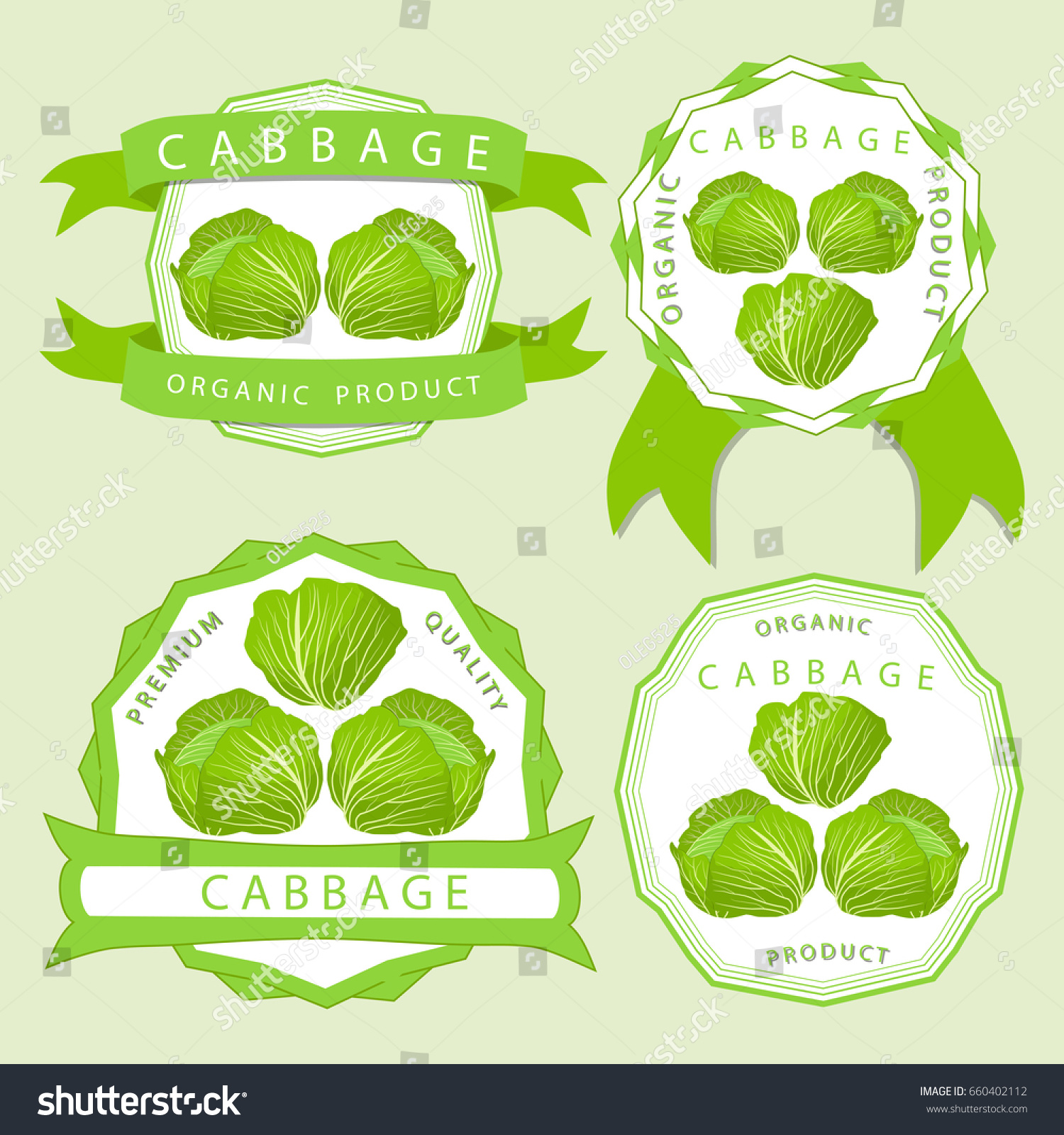 Abstract vector illustration logo whole ripe stock vector 660402112 abstract vector illustration logo for whole ripe vegetable red cabbage green rolls leaf cut buycottarizona Image collections