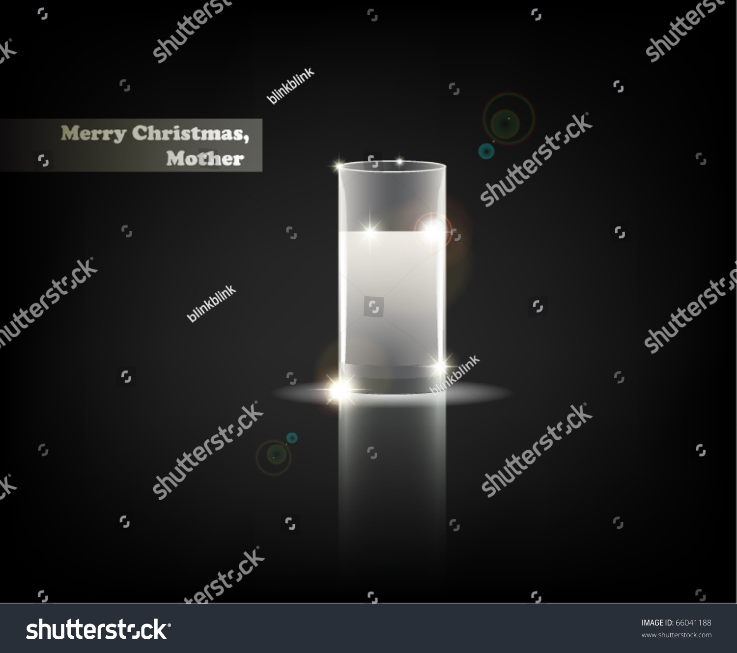 Merry Christmas Mother Serial Minimalistic Contemporary Stock Vector ...