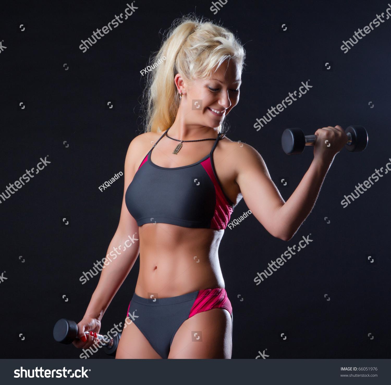 Sexy sportswoman