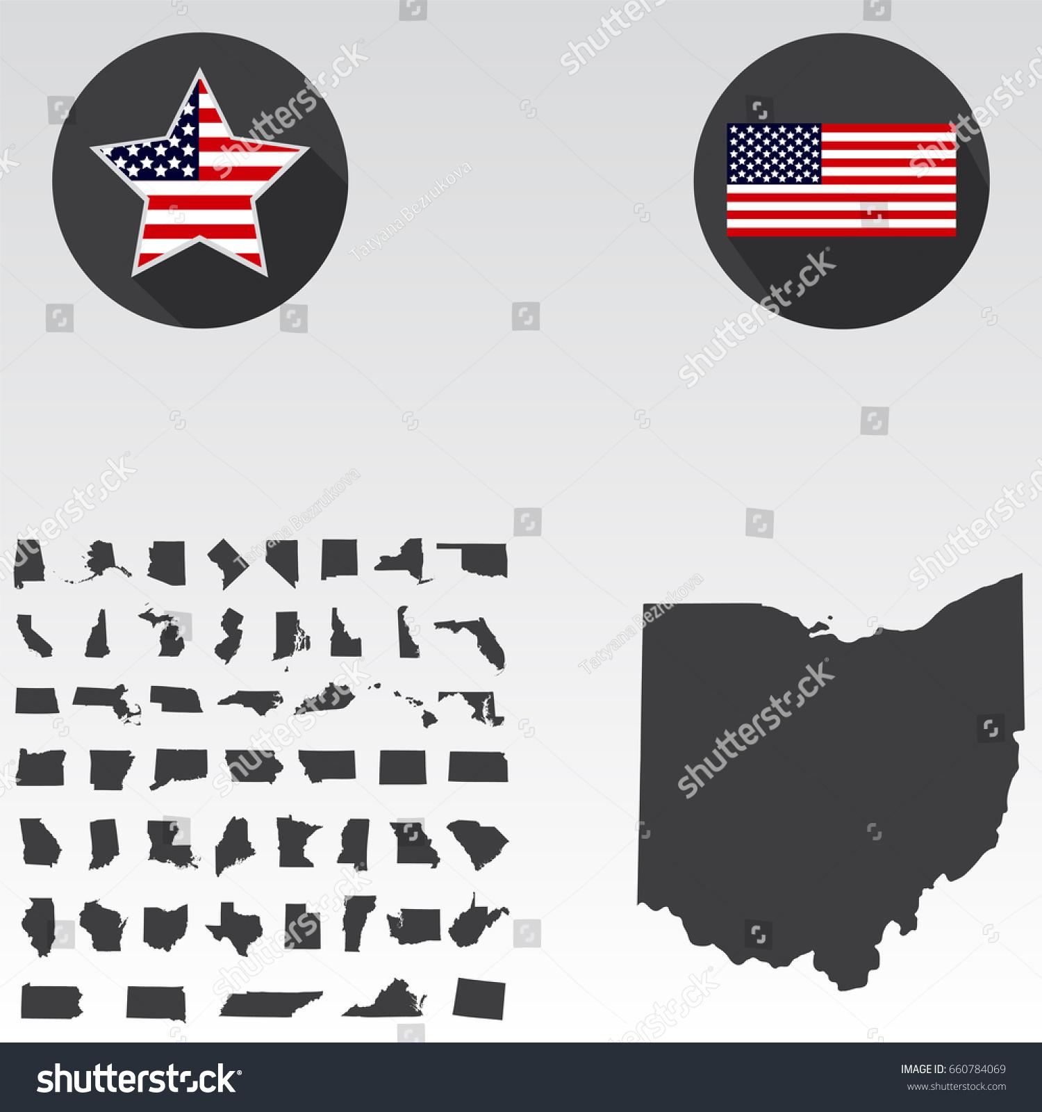 Map Ohio Fileusa Ohio Location Pioneer Dehp Wiring Diagram - Map of us ohio