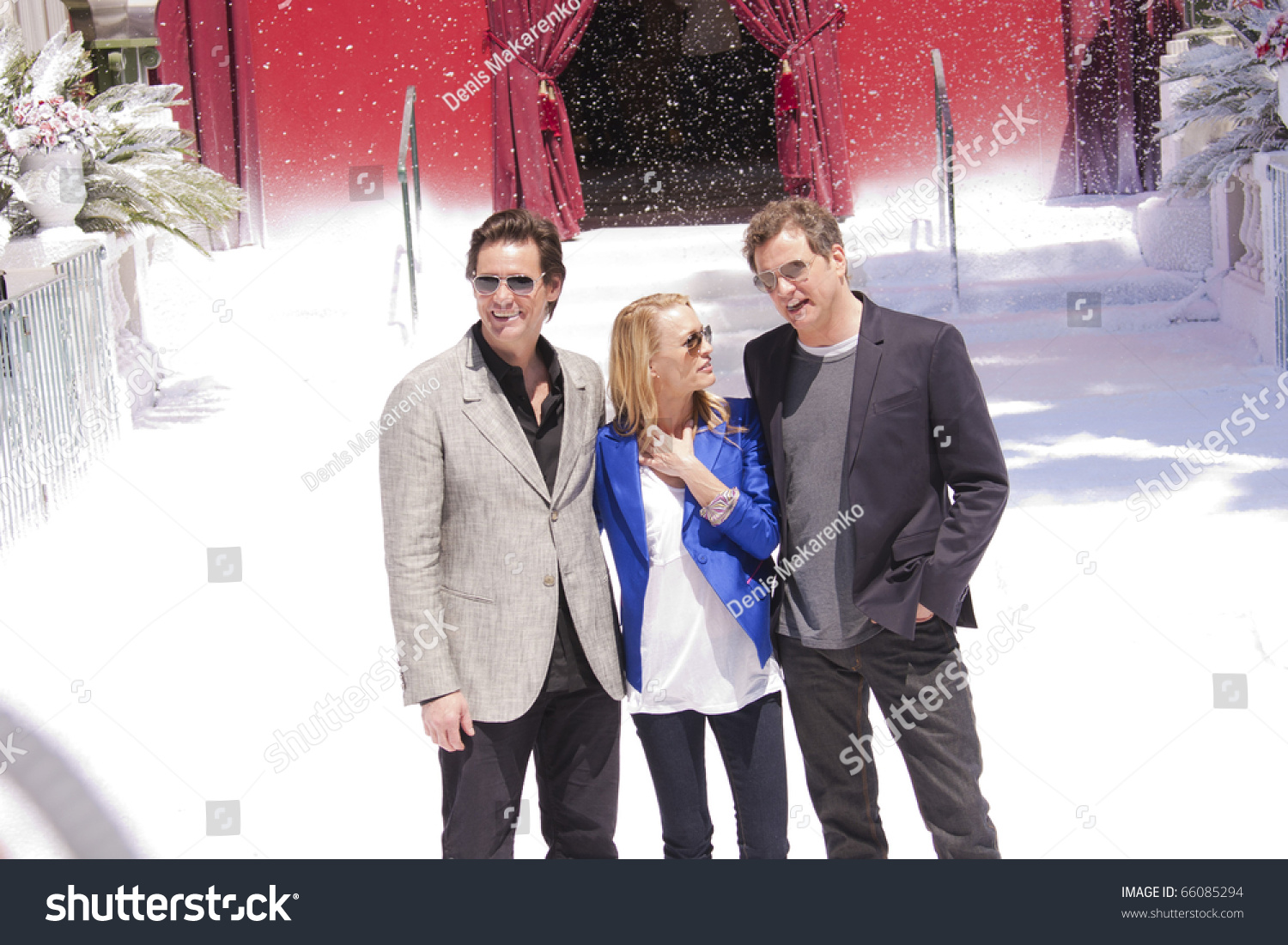 CANNES MAY 18 Jim Carrey Robin Stock Photo (Edit Now) 66085294 ...