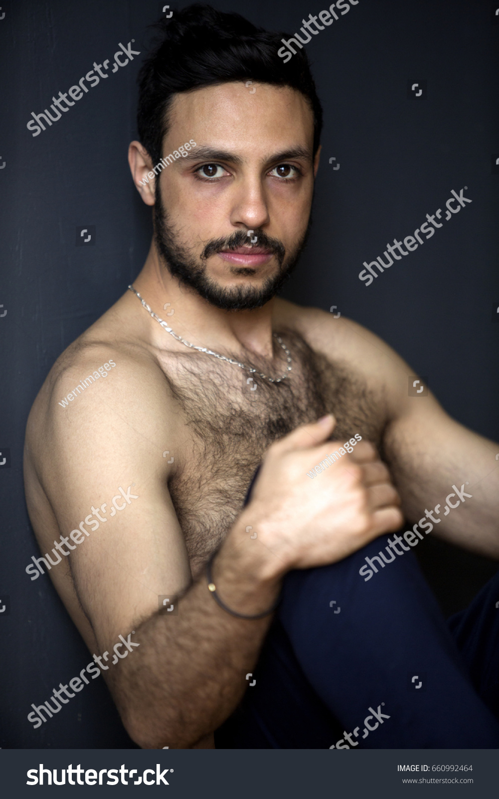 Matchless answer shirtless hairy chest men