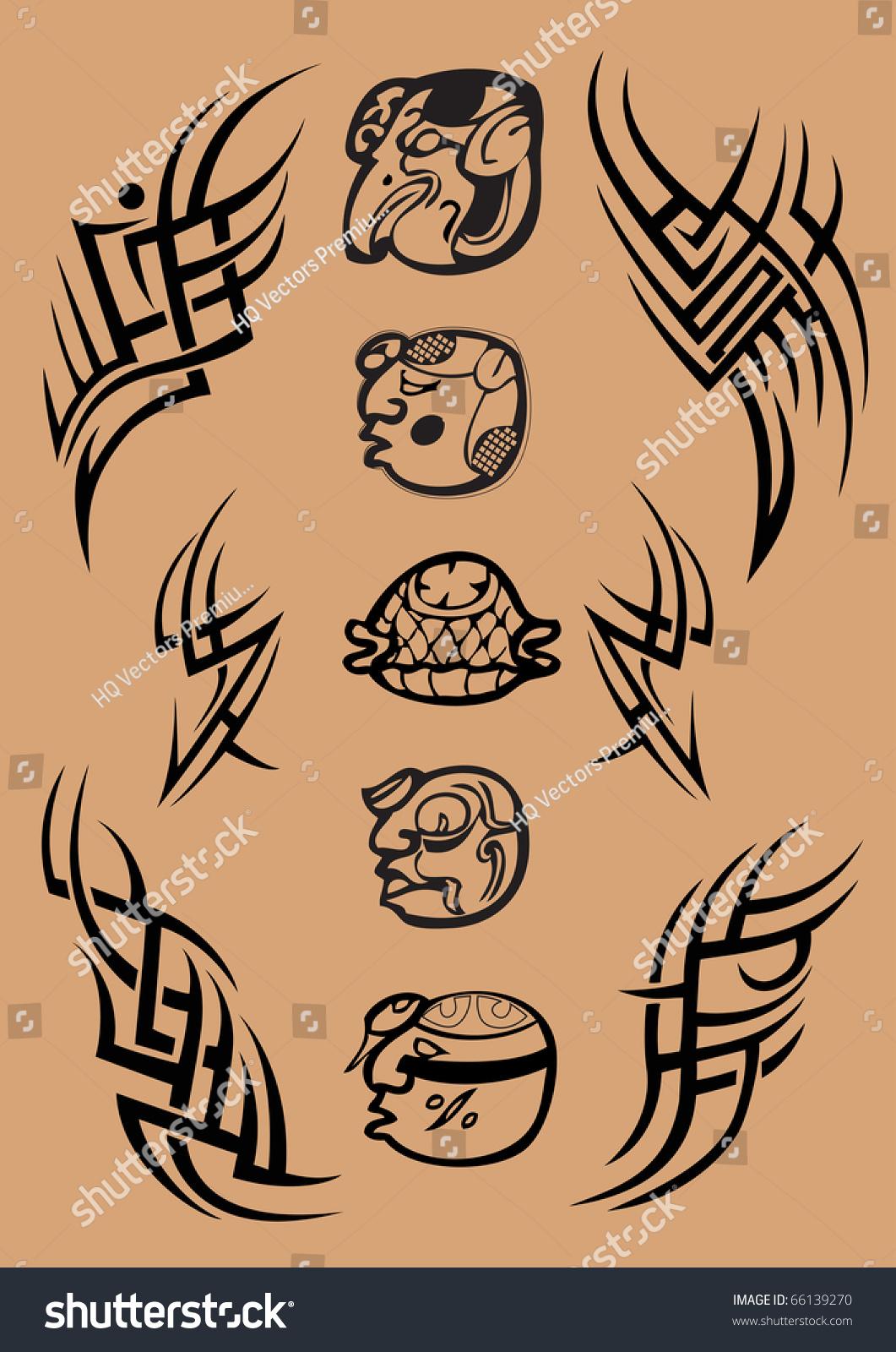 Mayan symbol tattoo images for tatouage mayan symbol tattoo in maya symbol letter tattoo stock illustration 66139270 shutterstock biocorpaavc
