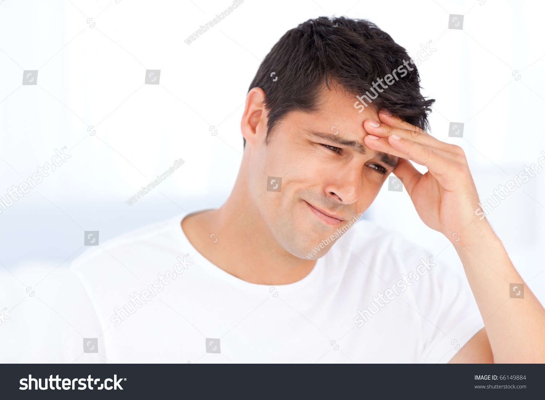 worried man