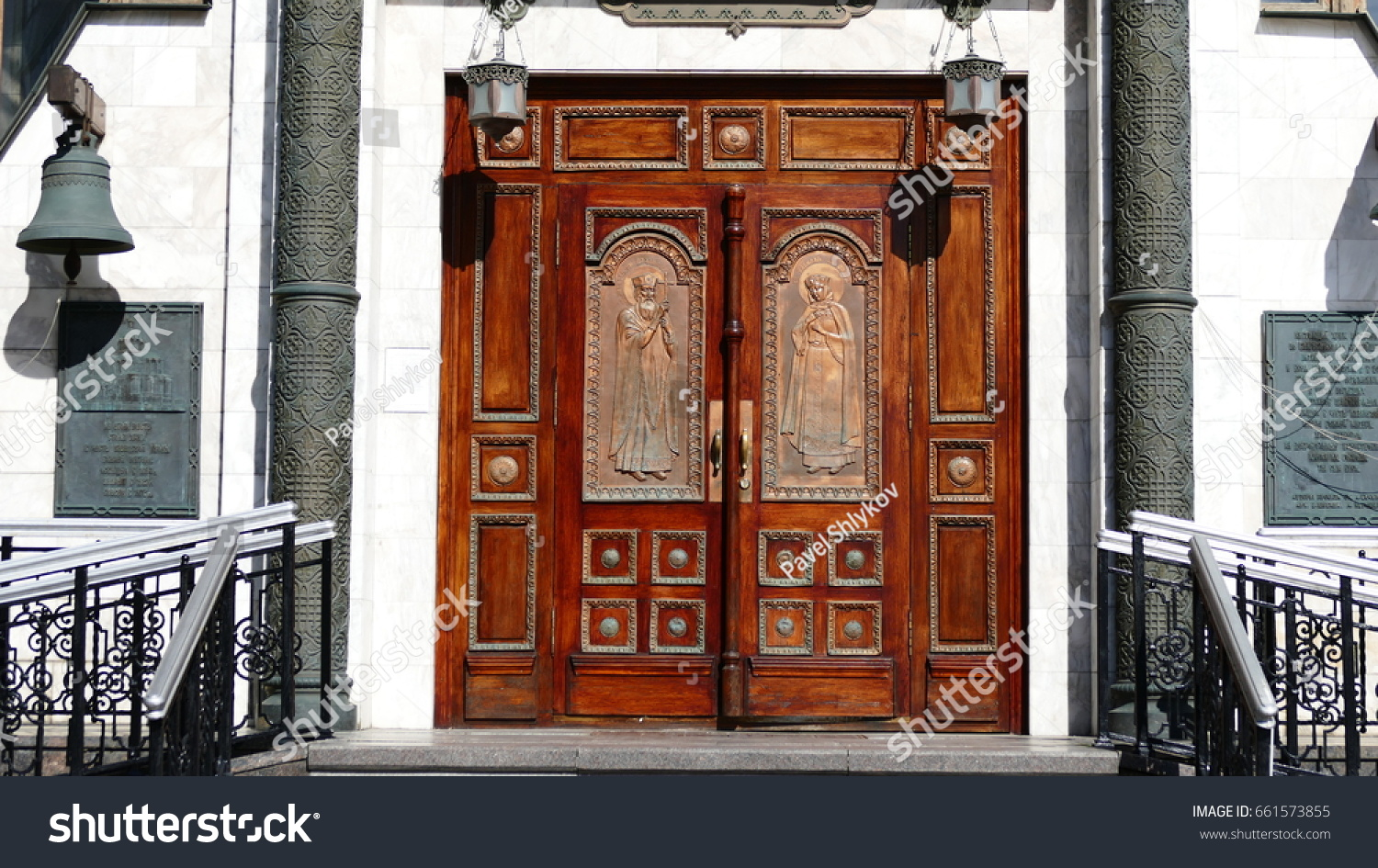 JUN 17 2017 MOSCOW RUSSIA Doors to the Church of the Kazan Icon & JUN 17 2017 MOSCOW RUSSIA Doors Stock Photo (Royalty Free) 661573855 ...