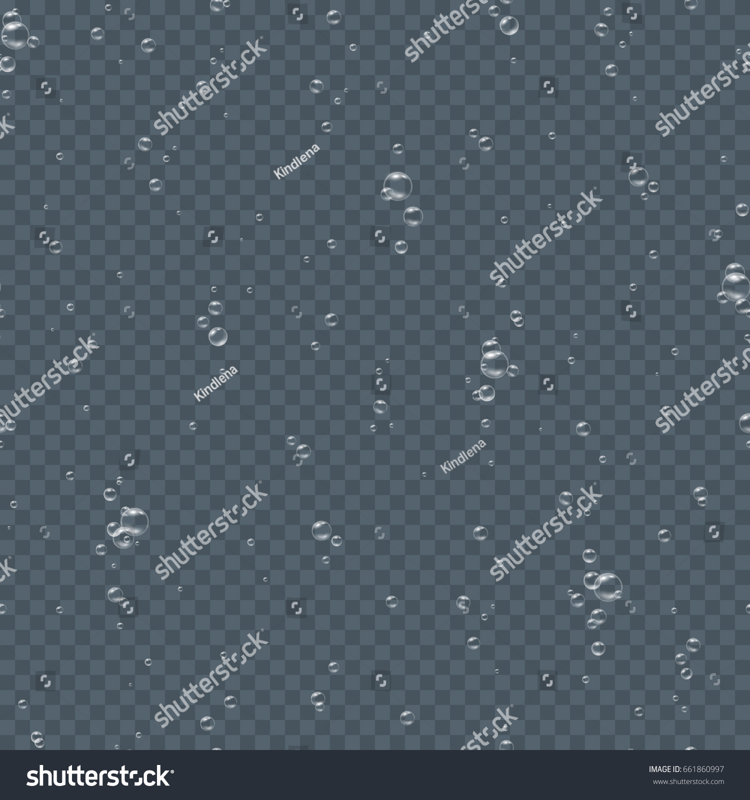 Seamless Underwater Texture bubbles seamless pattern underwater isolated on stock vector