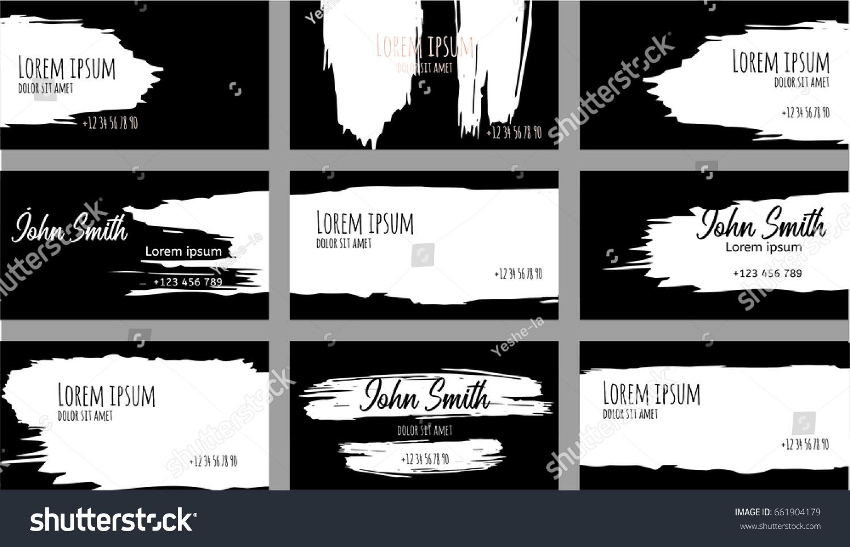 Creative Black And White Flyers Erkalnathandedecker