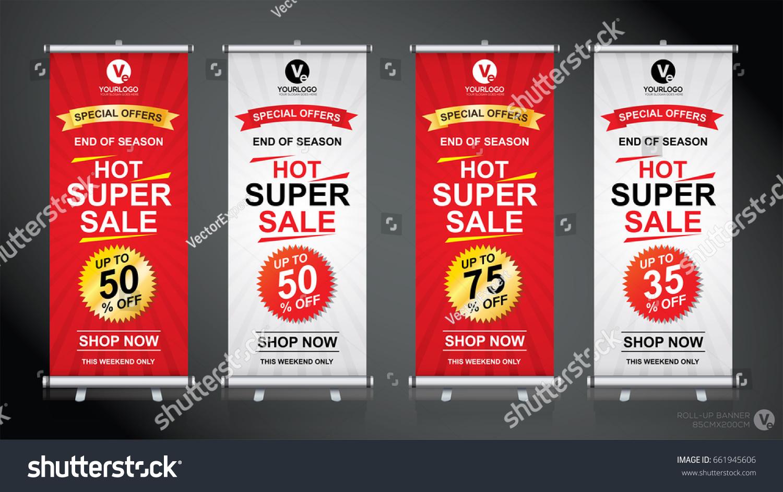 roll brochure flyer banner design template 661945606 shutterstock. Black Bedroom Furniture Sets. Home Design Ideas