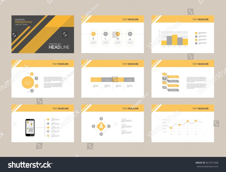 abstract presentation slide template design background stock, Presentation templates
