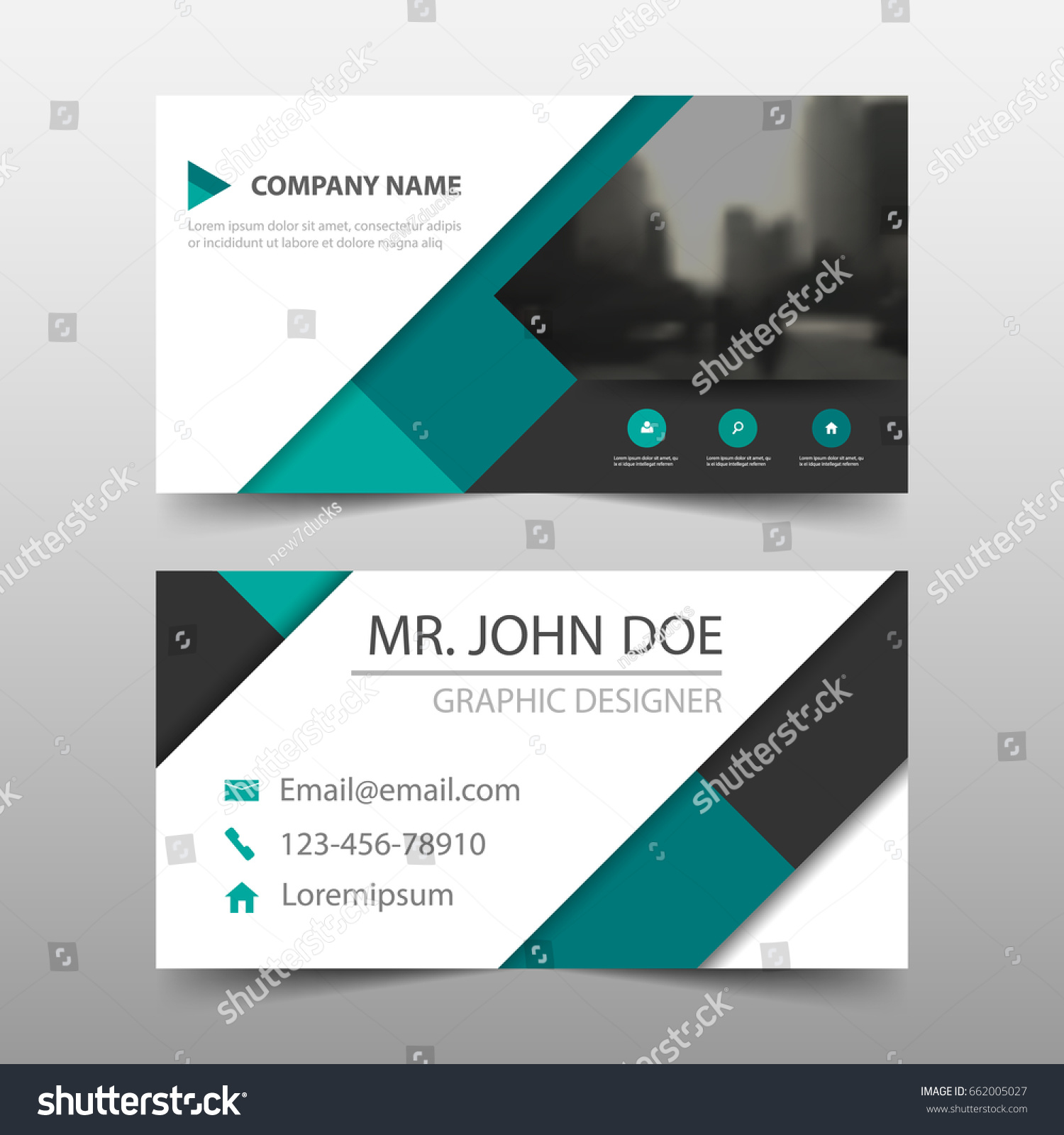 Business card website template gallery free business cards green square corporate business card name stock vector 662005027 green square corporate business card name card magicingreecefo Gallery