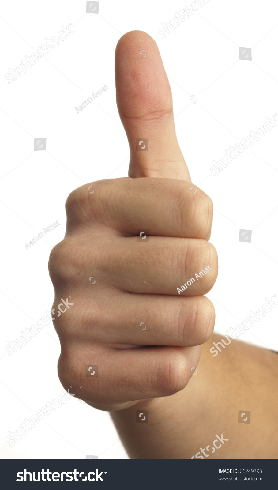 Hand symbol that means good on stock photo 66249793 shutterstock hand symbol that means good on white background buycottarizona Choice Image