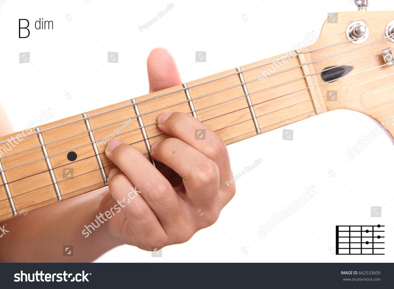 Bdim Advanced Guitar Keys Series Closeup Stock Photo Edit Now