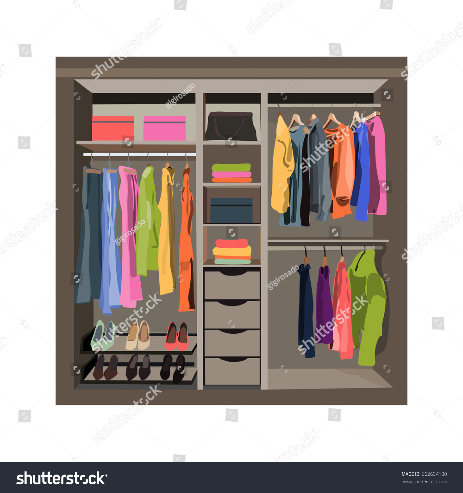 and minimalist closet learn rack wardrobe to copper capsule your remade made display how garment for it create accessories clothes hanging a