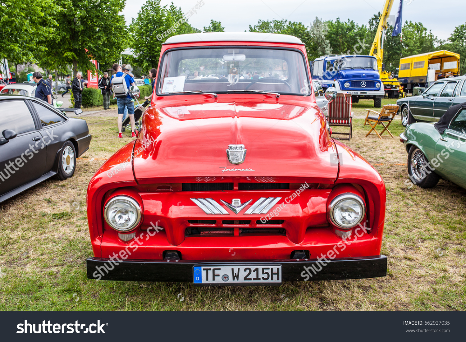 Paaren Im Glien Berlin Germany June Stock Photo Edit Now 662927035 1941 Ford F100 V8 03 2017 Oldtimer Show