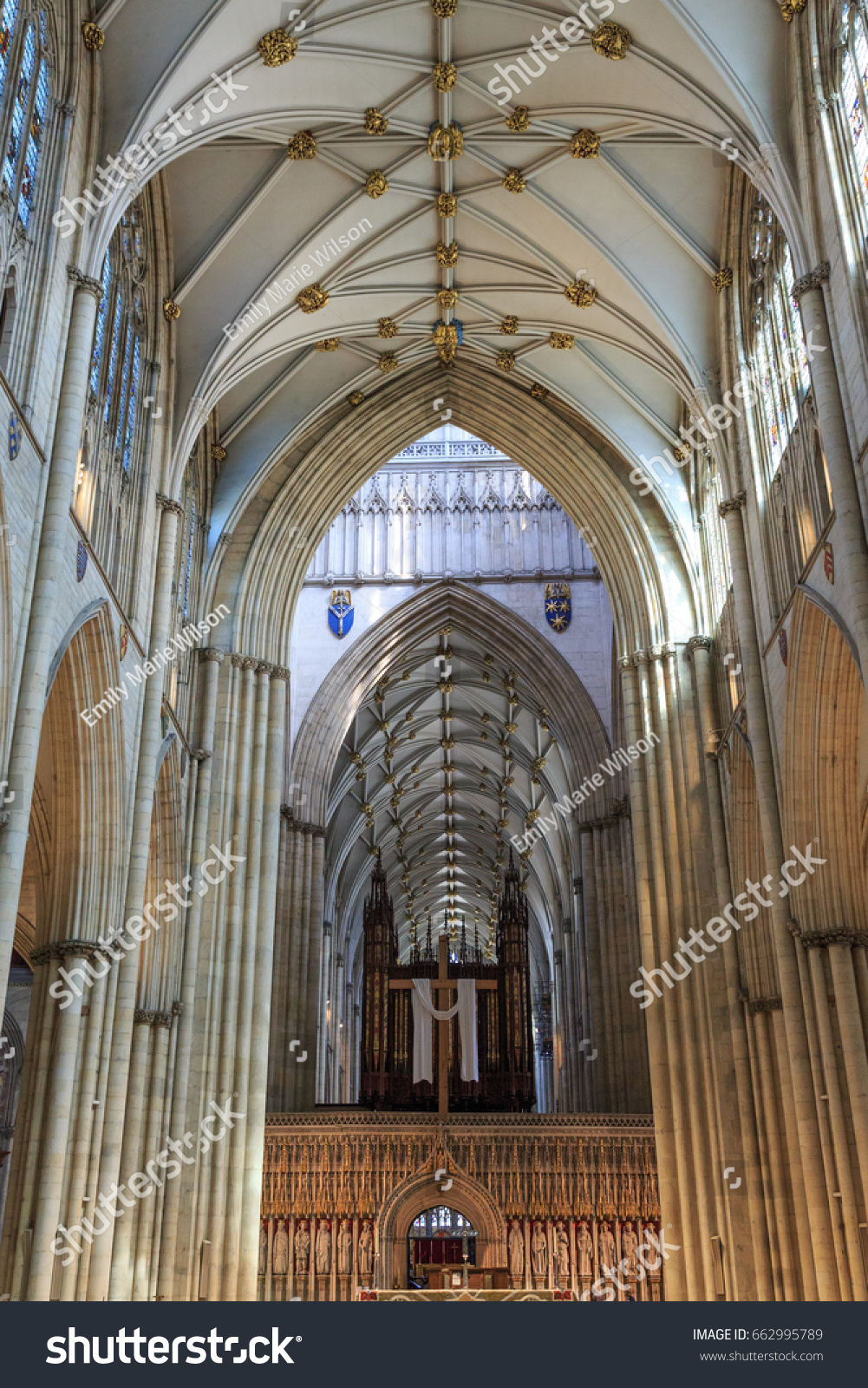 The English Gothic style Cathedral and Metropolitical Church of Saint